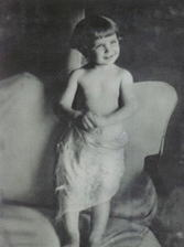 Mary as a small child c.mid 1920's
